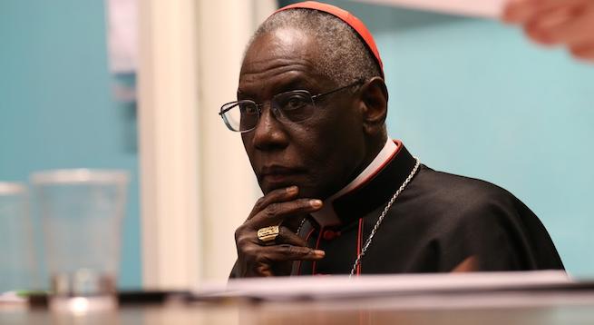 Cardinal Robert Sarah at the Sacra Liturgia conference in London, July 5, 2016.