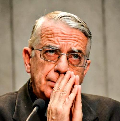 Vatican spokesman Father Federico Lombardi