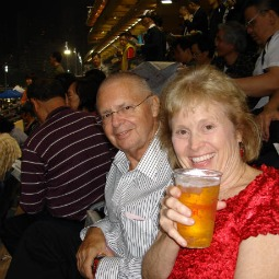 Jean and Scott Adams, in Hong Kong.