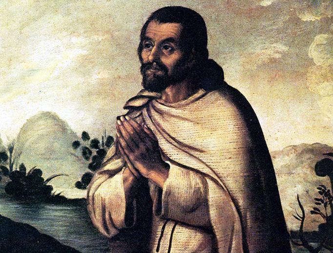 """Miguel Cabrera (1695-1768), """"Juan Diego"""""""