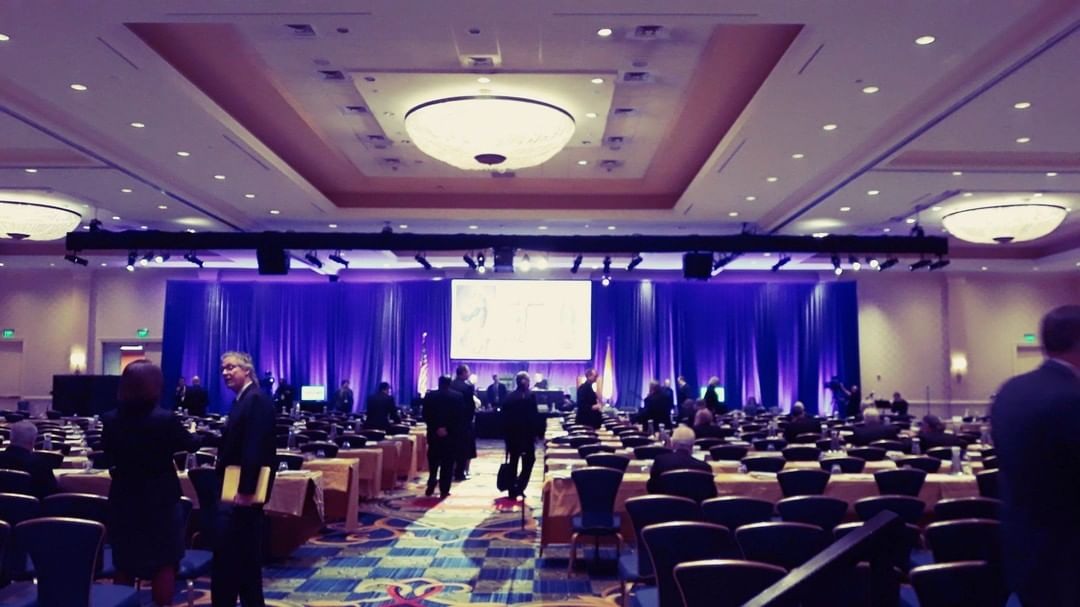 An image of Day 2 of 'USCCB18' as it was about to begin.