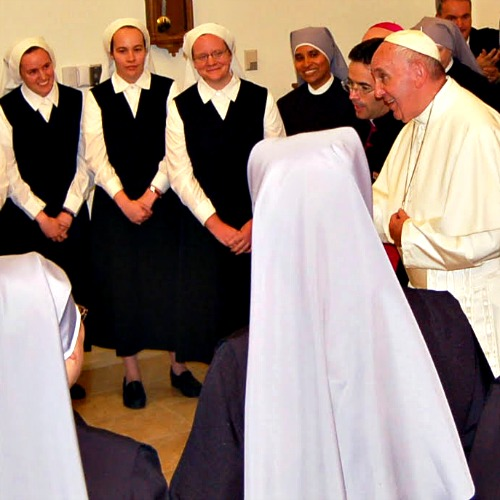 Pope Francis highlighted one of many examples of Catholic service when he made a surprise visit to the Little Sisters of the Poor in Washington on Sept. 23.