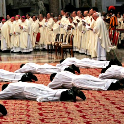 Ordinations in St. Peter's Basilica on May 11.