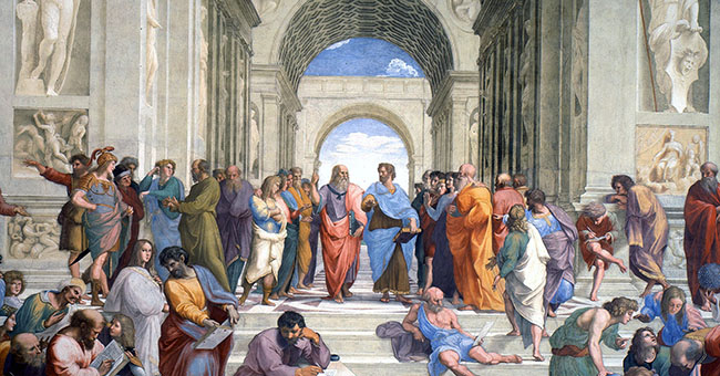 "Raphael (1483-1520), ""The School of Athens"""
