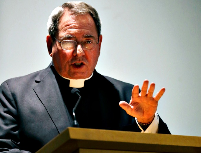 Archbishop John Myers of Newark, N.J., is defending Paramus Catholic High School's decision to terminate an employee for failing to abide by the archdiocese's guidelines that state that personnel will conduct themselves according to 'the discipline, norms and teachings of the Catholic Church.'