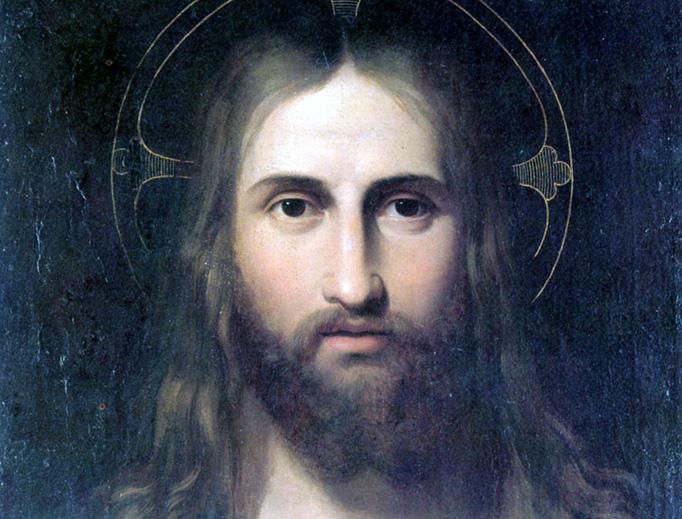 """Giuseppe Craffonara, """"Portrait of Christ"""", ca. 1825-1830"""