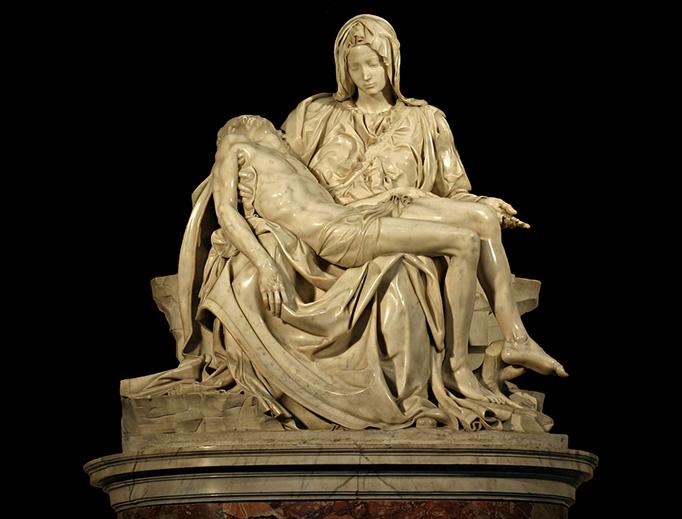 Pietà of Michelangelo
