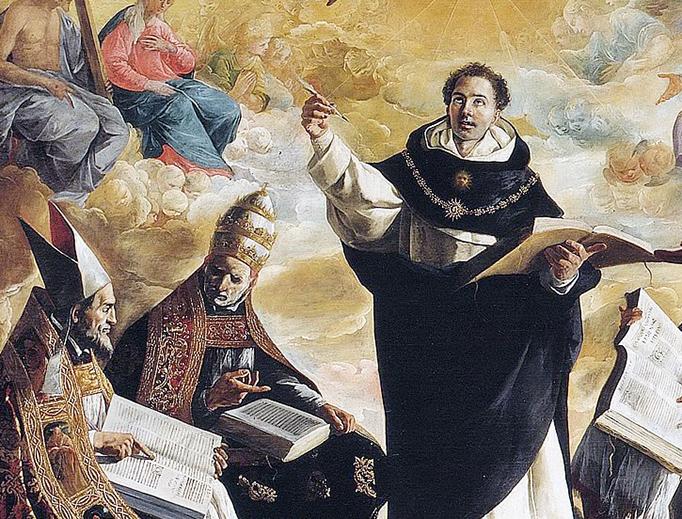 "Francisco de Zurbarán (1598-1664), ""St. Thomas Aquinas"""