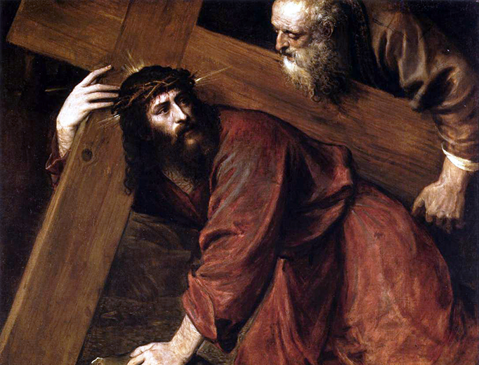 """Titian, """"Christ Carrying the Cross"""", ca. 1560"""