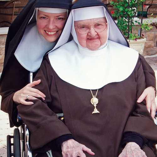 Mother Angelica's sisters, including the newest six nuns