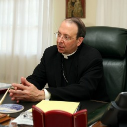 Archbishop William Lori is not counseling immediate civil disobedience, but said Americans may be faced with a Thomas More-like decision.