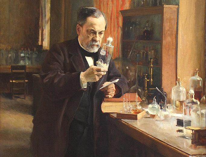 "Albert Edelfelt, ""Louis Pasteur,"" 1885"