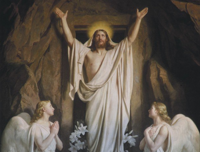 The Resurrection by Carl Heinrich Bloch, 1881