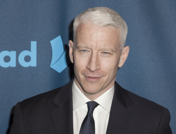 Anderson Cooper attends an awards event in New York City on March 13, 2013.