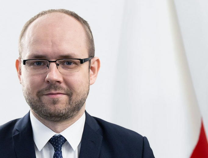 At age 34, Deputy Foreign Minister Marcin Przydacz is one of the Polish government's  youngest leaders.