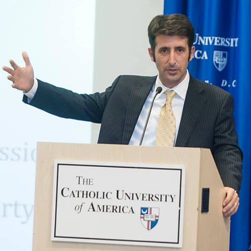 Andrew Abela, dean of the School of Business and Economics at The Catholic University of America