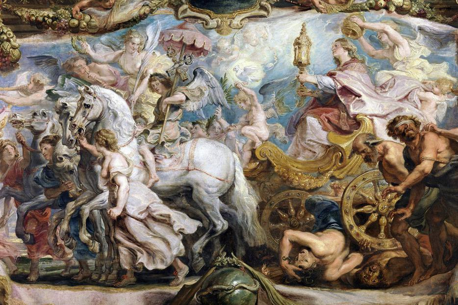 """Peter Paul Rubens, """"The Triumph of the Church over Fury, Discord and Hatred,"""" 1625"""