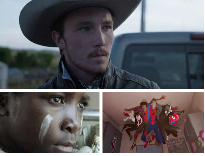 TOP 3. Clockwise: The Rider, Spider-Man: Into the Spider-Verse and I Am Not a Witch