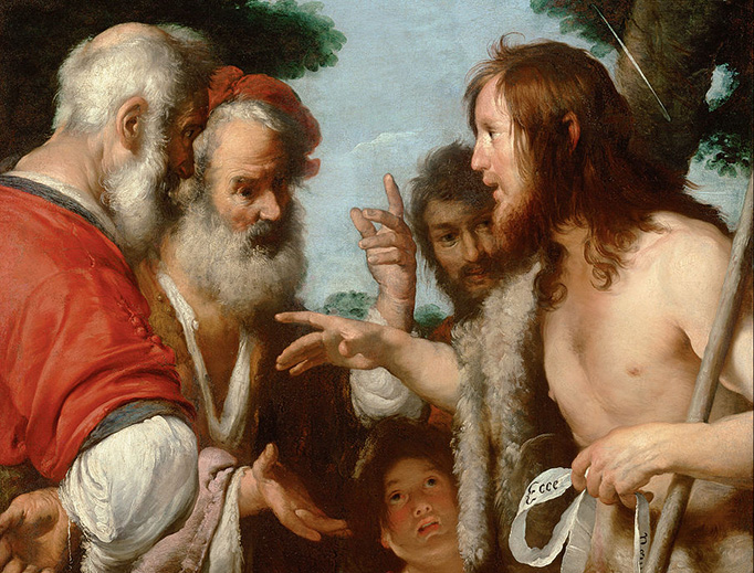 "Bernardo Strozzi, ""The Sermon of St. John the Baptist"", 1644"