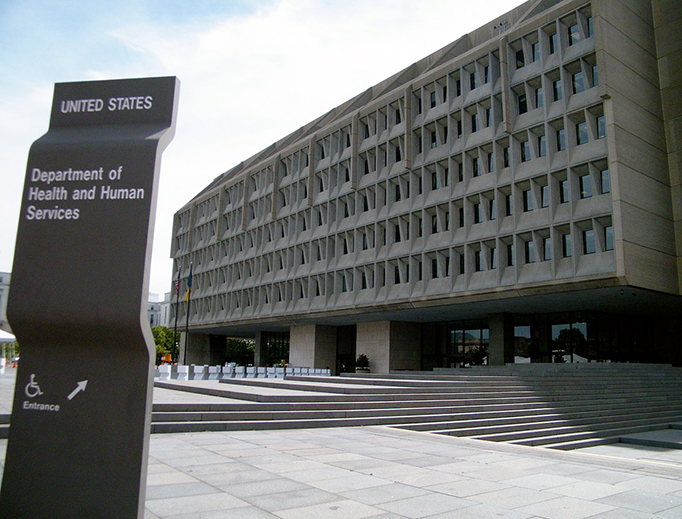 The Hubert H. Humphrey Building in Washington, D.C., is the headquarters of the Department of Health and Human Services