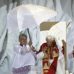 Rain and wind didn't dampen the enthusiasm of the young people or the Pope in Madrid at the WYD prayer vigil this summer.