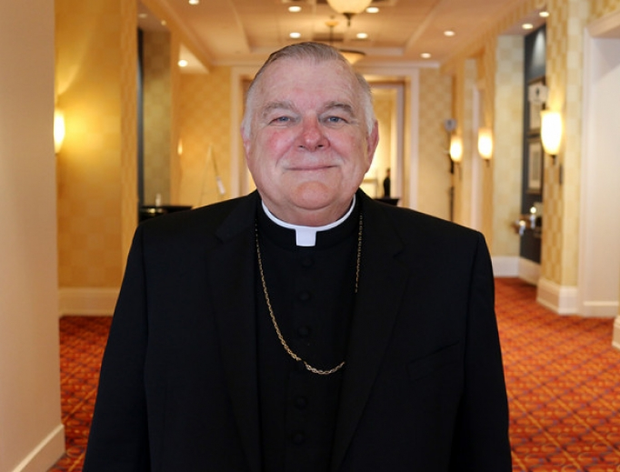 Archbishop Thomas Wenski of Miami, 2019.