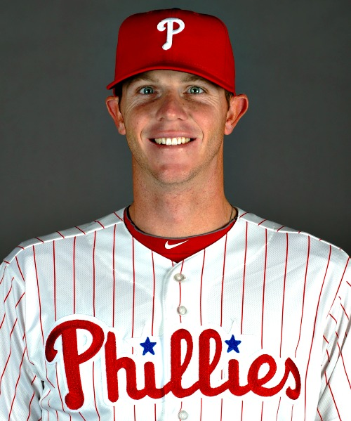 Philadelphia Phillies pitcher Justin De Fratus