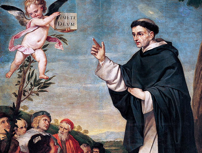 """Alonso Cano, """"St. Vincent Ferrer Preaching,"""" c. 1645"""