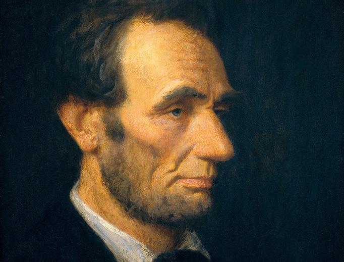 """Douglas Volk (1856-1935), """"Abraham Lincoln"""""""