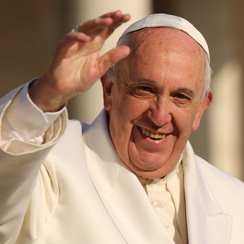 Pope Francis at the general audience in St. Peter's Square on Dec. 16.