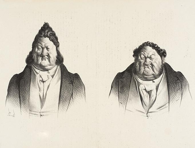 """Honoré Daumier (1808-1879), """"1830 et 1833"""""""