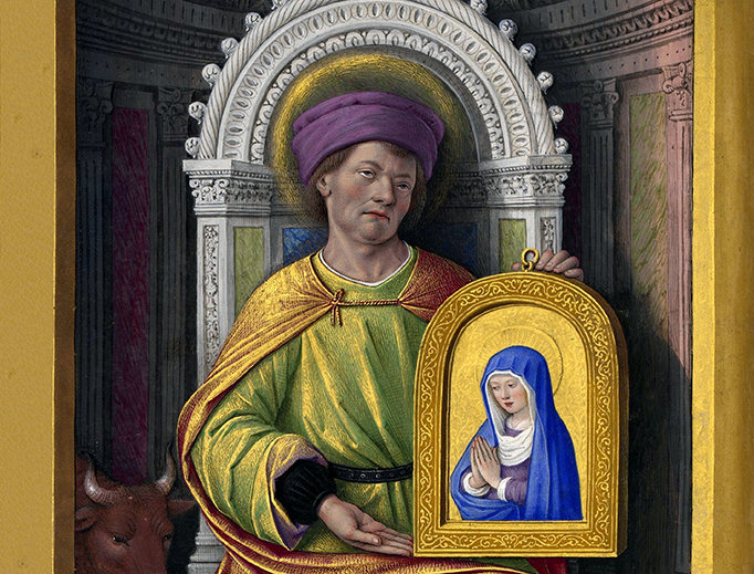 "Jean Bourdichon (1457–1521), ""Saint Luke the Evangelist"""