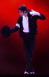 Michael Jackson in 1999.