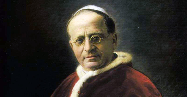 """Pope Pius XI introduced social justice as a new virtue in his landmark 1931 encyclical, """"Quadragesimo Anno""""."""