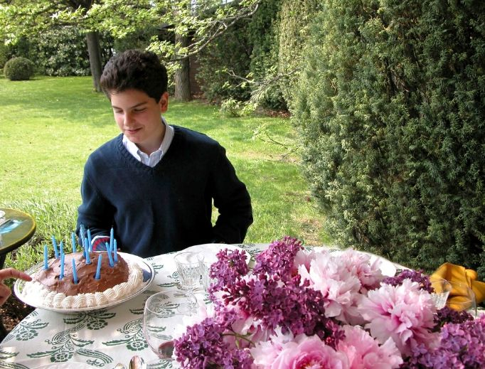 Carlo Acutis, shown celebrating a birthday in a family photo, will be beatified in Assisi, Italy, on Oct. 10.