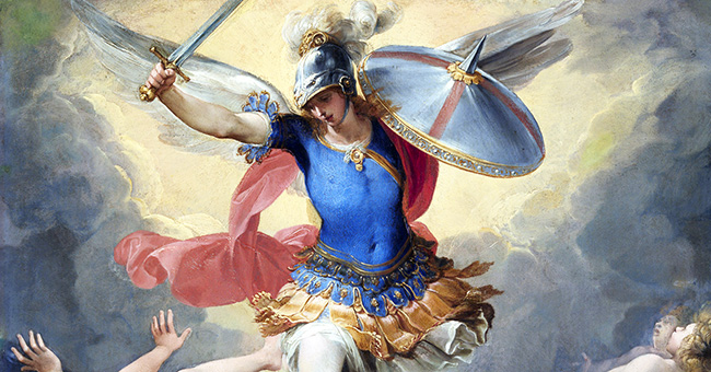 "Giuseppe Cesari (1568-1640), ""Archangel Michael and the Rebel Angels"""