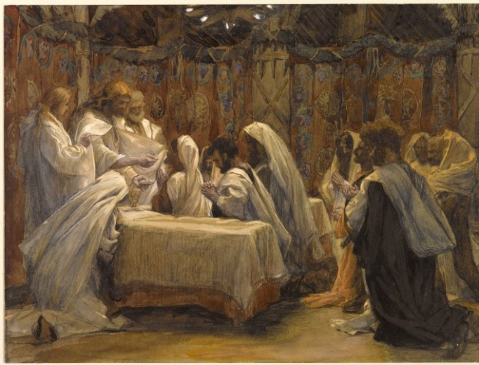 The Communion of the Apostles by James Tissot