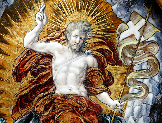 "Léonard Limousin, ""The Resurrection"", 1553"