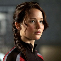 Jennifer Lawrence portrays Katniss in 'The Hunger Games.'