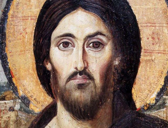 Christ the Savior (Pantokrator) from Saint Catherine's Monastery, Mount Sinai.