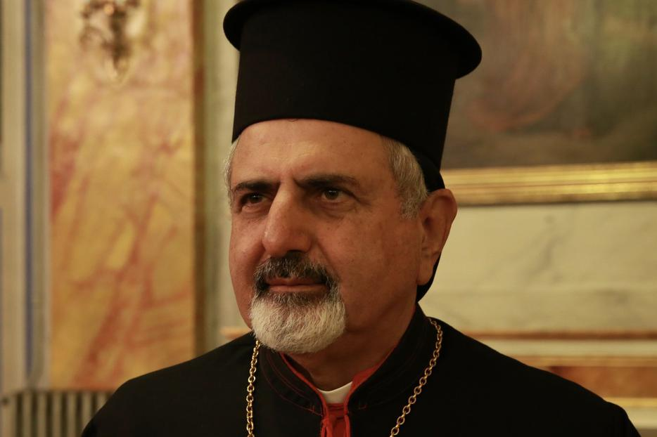 Patriarch Ignatius Joseph III Younan of Antioch and All the East of the Syriac Catholic Church in Istanbul, Turkey, Nov. 30, 2014.