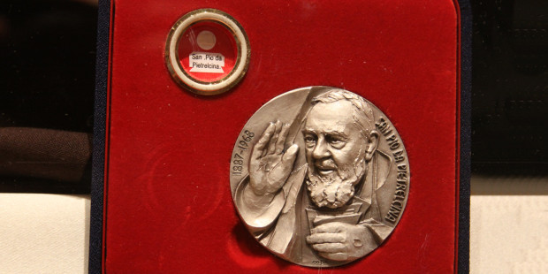 Click on the Here Comes Everybody: My Grace-Filled Meet-Up with Padre Pio's Relics link to read more.