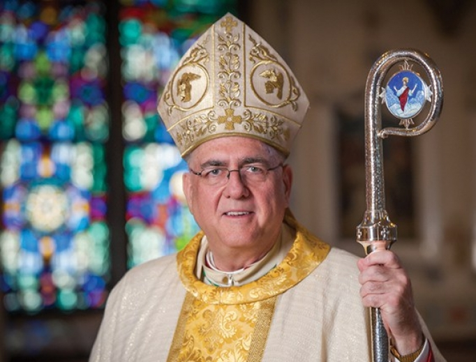 Archbishop Joseph Naumann of Kansas City in Kansas.