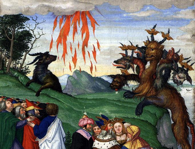 "Matthias Gerung (1500–1570), ""The Beasts of Revelation"""