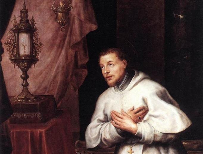 Portrait of St. Norbert by Marten Pepijn