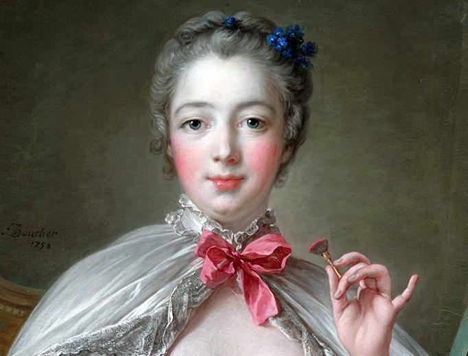 """François Boucher, """"Jeanne-Antoinette Poisson, Marquise de Pompadour"""", 1758"""