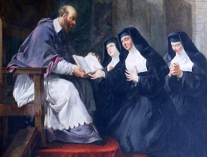 St. Francis de Sales is the patron saint of writers.