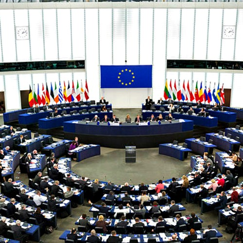 The European Parliament holds a plenary meeting in Strasbourg.