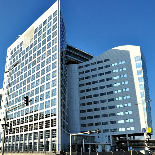 The International Criminal Court in The Hague (ICCCPI), Netherlands