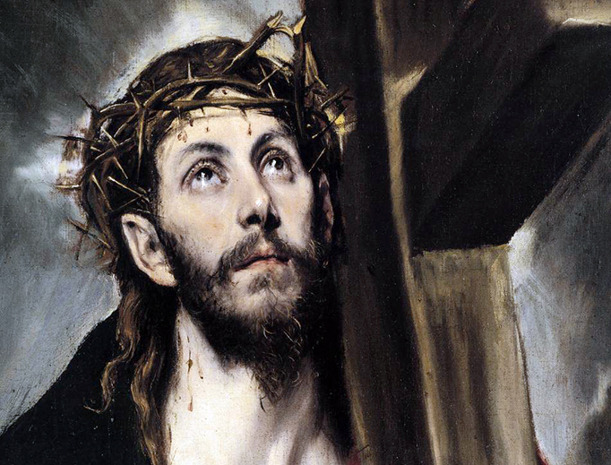 """El Greco, """"Christ Carrying the Cross"""", 1580s"""